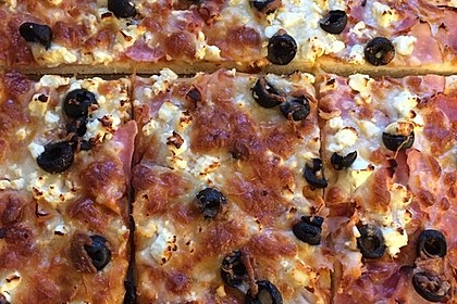 Marinas Pizzateig mit Backpulver 22
