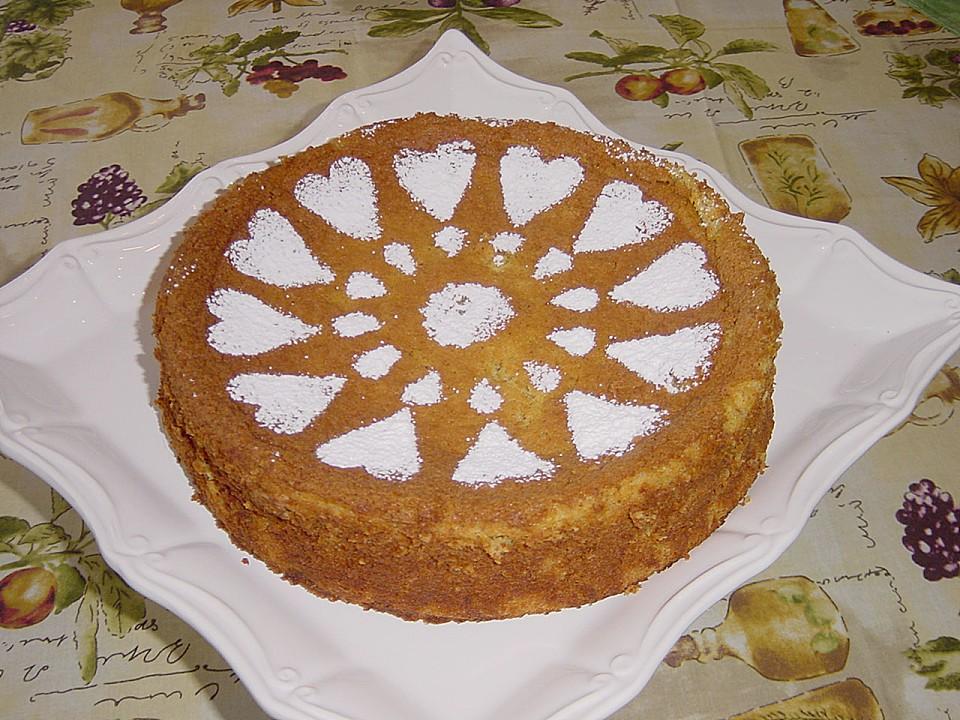 Orangen Mandel Kuchen Von Pumpkin Pie Chefkoch De