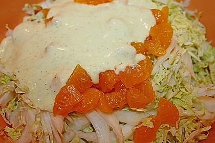 Chinakohl mit Mandarinchen und Curry 5