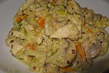 Quinoa - Putenpfanne 6
