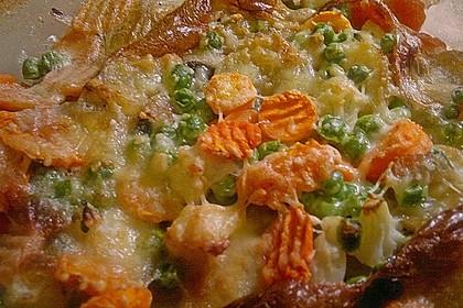 Saftiger Kartoffel - Gemüse - Auflauf 4