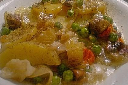 Saftiger Kartoffel - Gemüse - Auflauf 7