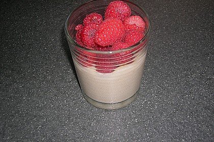 Himbeercreme mit weißer Schokolade 14