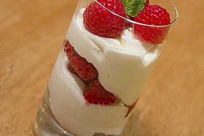 Einfaches Himbeertrifle 1
