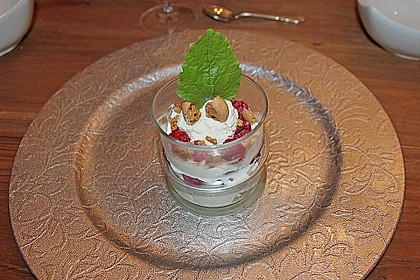 Einfaches Himbeertrifle 3