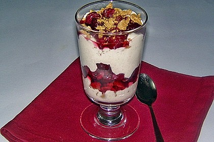 Einfaches Himbeertrifle 2
