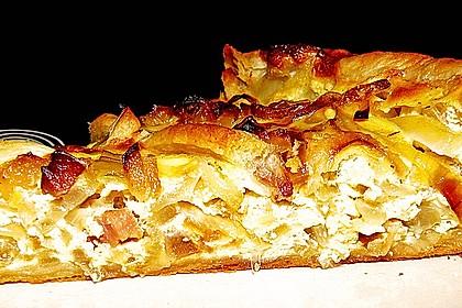 Pfälzer Zwiebelkuchen mit Blätterteig 23