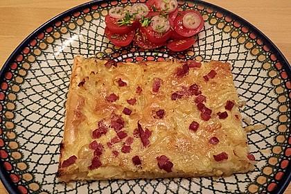Pfälzer Zwiebelkuchen mit Blätterteig 27