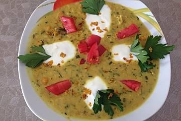 Kichererbsensuppe aus Persien