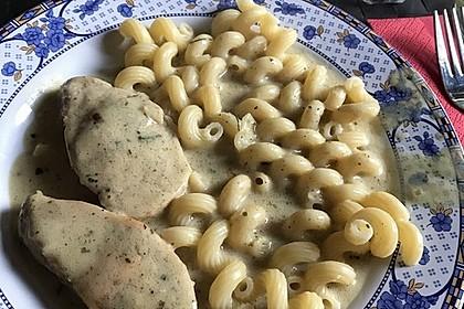 Putenschnitzel in Kräuterrahmsauce 2