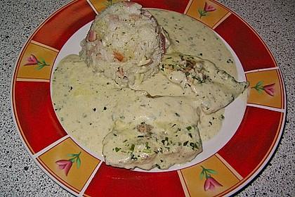 Putenschnitzel in Kräuterrahmsauce 4