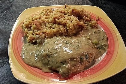 Putenschnitzel in Kräuterrahmsauce 5