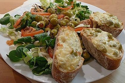 Crostini mit Pecorino