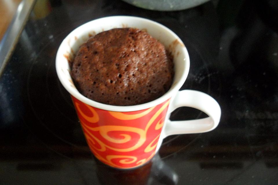 Mug Cake Tassen Mikrowellenkuchen Von Alexholmes Chefkoch De