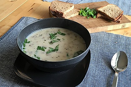 Pilzsuppe 1