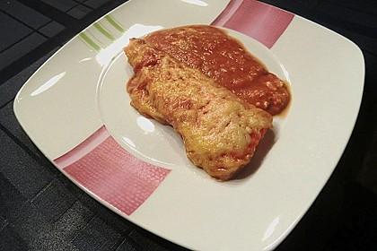 Überbackene Spitzpaprika mit Käsefüllung 50