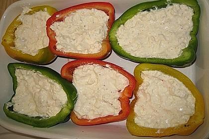 Überbackene Spitzpaprika mit Käsefüllung 48
