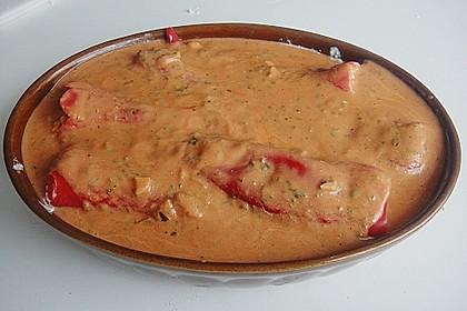 Überbackene Spitzpaprika mit Käsefüllung 53