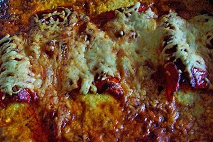 Überbackene Spitzpaprika mit Käsefüllung 69