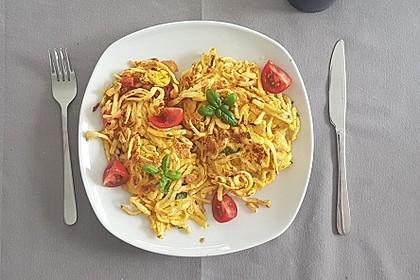 Nudel - Omelette (Bild)