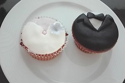 Schokoladen - Muffins mit Erdnussbutterkern 1