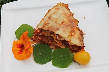 Hackfleisch - Lauch - Lasagne 1