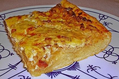Elsässer Zwiebelkuchen nach Oma Liese