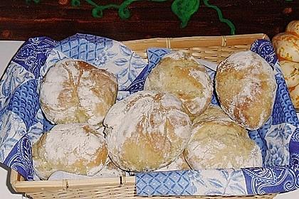 Kartoffel - Rosenbrötchen mit Dinkel 29