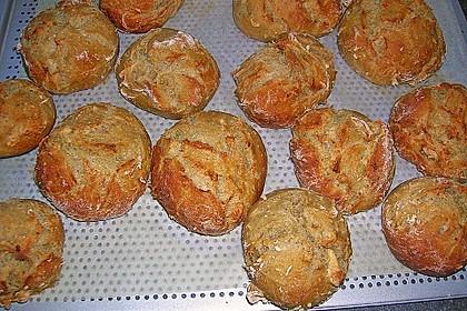 Kartoffel - Rosenbrötchen mit Dinkel 4