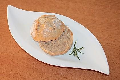 Kartoffel - Rosenbrötchen mit Dinkel 9