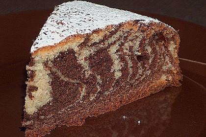 Wölkchen - Zebra - Kuchen 1