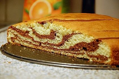 Wölkchen - Zebra - Kuchen 3