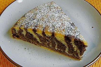 Wölkchen - Zebra - Kuchen 4