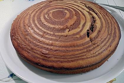 Wölkchen - Zebra - Kuchen 24