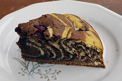 Wölkchen - Zebra - Kuchen 8