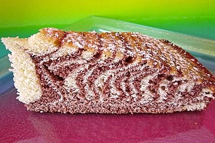 Wölkchen - Zebra - Kuchen