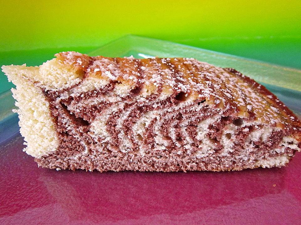 Wolkchen Zebra Kuchen Von Schokomauschen23 Chefkoch De