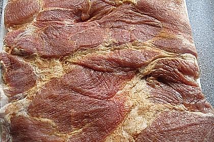 Gefüllter Schweinebraten (Schweinerollbraten) nach Art eines Spießbraten 10