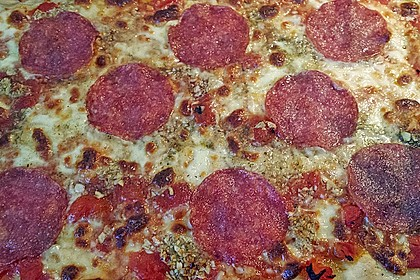 Roros geniale und weltbeste Knoblauchpizza 43