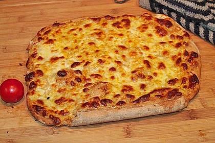 Roros geniale und weltbeste Knoblauchpizza 32