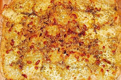 Roros geniale und weltbeste Knoblauchpizza 34