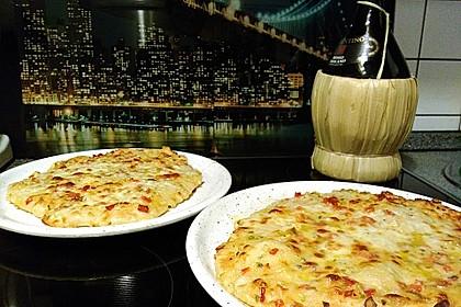 Roros geniale und weltbeste Knoblauchpizza 8