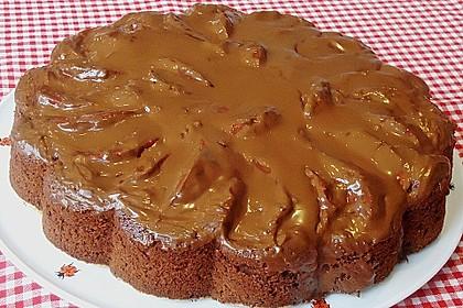 Birnenkuchen mit dem schokoladigsten Schoko - Schokoladen - Schock 15