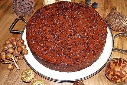 Birnenkuchen mit dem schokoladigsten Schoko - Schokoladen - Schock 12