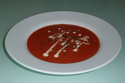Cremige Rote Bete - Möhren - Suppe 11