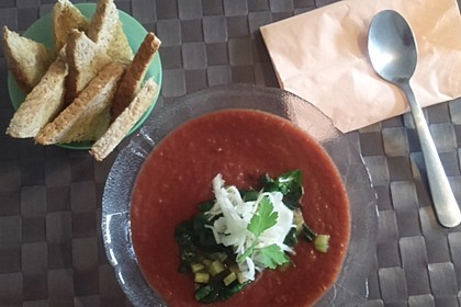 Cremige Rote Bete - Möhren - Suppe 15
