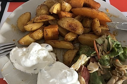 Kartoffel - Kürbis - Wedges 4