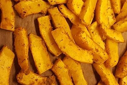 Kartoffel - Kürbis - Wedges 9
