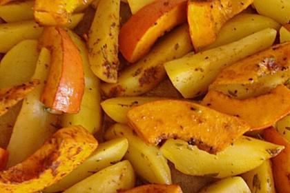 Kartoffel - Kürbis - Wedges 12