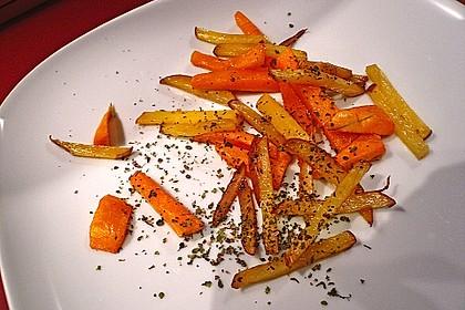 Kartoffel - Kürbis - Wedges 6